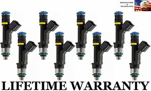 Upgraded Bosch 8x Fuel Injectors For 07 08 Ford Expedition Lincoln Navigator 5 4