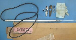 Nors Antenna Concealed Type Antique Cars 1940 s 1950 s With Attaching Parts