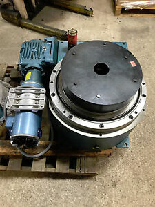 Camco 15 1 1800rdm6h64 270 6 Position Index Rotary Table W torque Protector