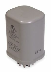 Dayton Hermetically Sealed Plug In Relay 11 Pins Octal Base Type 12a