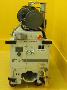 Iqdp80 Edwards Iq6120204xs Dry Vacuum Pump 12805 Hrs Qmb500f Used Tested Working