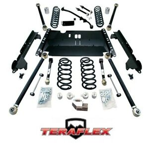 Teraflex Tj 3 Enduro Lcg Long Arm Lift Kit W Flexarms For 97 06 Jeep Wrangler