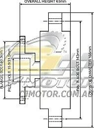 Dayco Fanclutch For Nissan Patrol Feb 1992 Dec 1997 4 2l 12v Efi Gq Tb42e