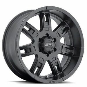 Mickey Thompson 90000019402 Sidebiter Ii 17 X 9 Wheel Bc 6x5 5 Bs 5