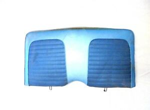 1966 Mustang Coupe Rear Seat Back Upper