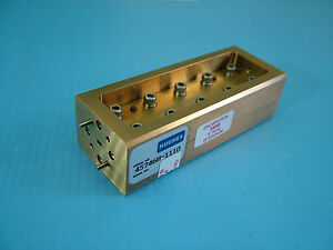 Wr10 Waveguide Attenuator 75 110ghz 10db W Band Hughes 45746h 1110