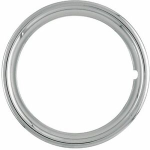 16 Inch New Plastic Chrome Beauty Rings Standard 2 1 75 1 3 4 Inch Trim Ring