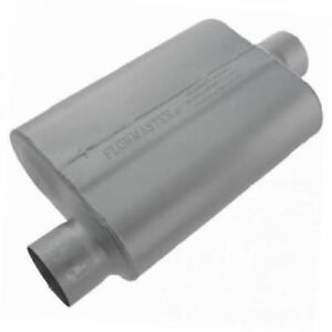 Flowmaster 43041 40 Series Muffler 3 00 Offset In 3 00 Center Out Aggr Sound