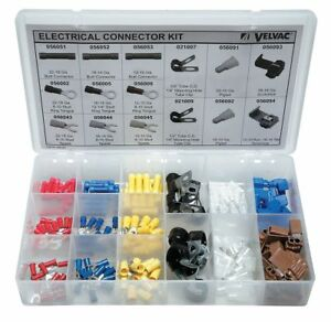 Velvac Crimp Connector Kit Terminal Type Vinyl Insulated Number Of Pieces