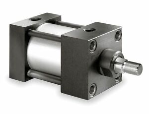 Speedaire 2 Bore Dia With 30 Stroke Aluminum Side Tapped sleeve Nut Mounted