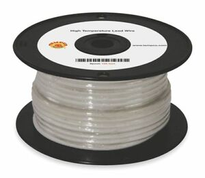 Tempco 10 Awg Tggt High Temperature Lead Wire Nickel Plated Copper 600vac