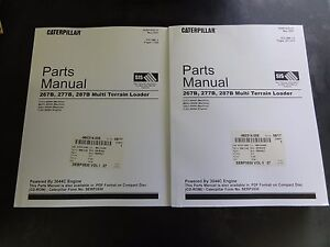 Caterpillar Cat 267b 277b 287b Multi Terrain Loader Parts Manual Sebp3930 27