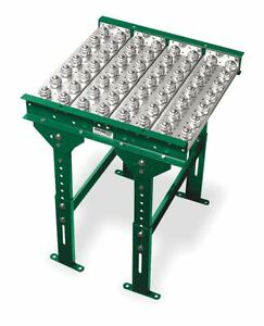Ashland Conveyor 24 Conveyor Ball Transfer Table With 10 Between Frames Balls