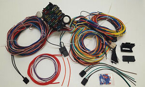 1953 1954 1955 1956 Ford International Truck Pickup Complete Wiring Kit Harness