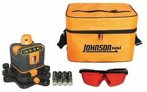 Johnson Manual Leveling Rotary Laser Level Horizontal And Vertical Interior