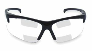 Jackson Safety Clear Scratch resistant Bifocal Safety Reading Glasses 2 0 Top