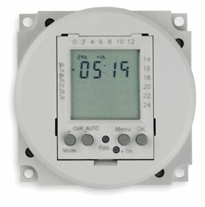 Intermatic Electronic Timer 16 Amps 24vac dc Voltage Operation Mode 24 Hr 7