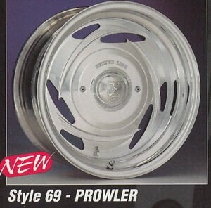17x8 Centerline Forged Aluminum Wheels Prowler Style 1 Only 5 5 0