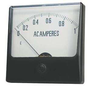 Analog Panel Meter Dc Voltage 0 50 Dc V 12g442