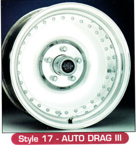 15x10 Centerline Forged Aluminum Wheels Auto Drag 3 Style 1 Only 5 5 0 Bc