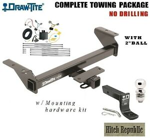 Fits 2016 2019 Toyota Tacoma Pickup Class 3 Trailer Hitch Package 2 Ball 75238