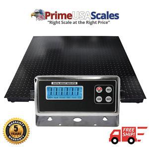 Pallet Scale 5 Year Warranty 40x40 Heavy Duty 40 X 40 Floor Scale 10 000 Lb