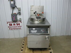 Bki Industries Electric Chicken Fish Pressure Fryer W Filter System Fkm fc