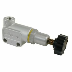 Wilwood 260 10922 Brake Proportioning Valve 3 8 24 If Inlet Size Clear Anodize