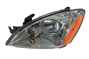 For 2004 2007 Mitsubishi Lancer Es Left Driver Headlamp Headlight Chrome