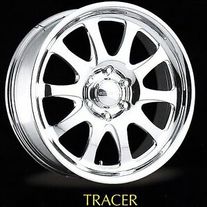 18x8 Centerline Forged Aluminum Wheels Tracer Style 3 Only 5 5 5 Bc