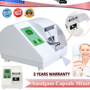 New Dental Digital Hl ah G5 High Speed Amalgamator Amalgam Capsule Mixer 40w Ce