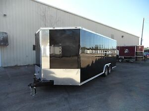 2017 8 5x24 Ft Enclosed Cargo Trailer Direct From Factory Pricing