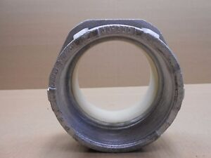 1 New Efcor 40 500 40500 5 Insulated Water tite Hub For Threaded Rigid Conduit