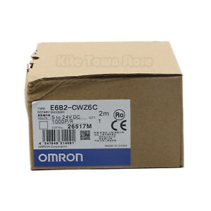 Omron Rotary Encoder E6b2 cwz6c 1000p r Dc 5v 24v New One Year Warranty