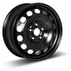 4 New 16x6 5 52 Black Steel Wheels Rims 5x115