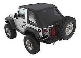 Smittybilt 9073235 Bowless Combo Soft Top For 2007 2018 Jeep Jk Wrangler 2 Door