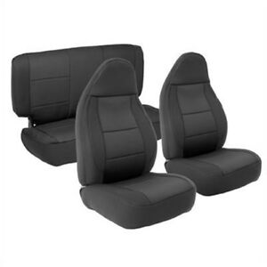 Smittybilt 471201 Seat Covers Black Neoprene For 1997 2002 Jeep Jk Wrangler
