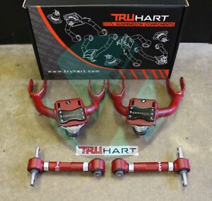 Truhart Adjustable Front Rear Camber Kit Combo For 88 91 Honda Civic Crx Ef