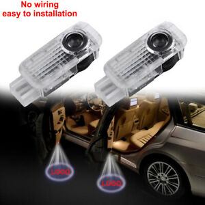 2pcs For Audi A4 A5 A6 A7 A8 A3 Led Projector Light Laser Door Lamp New