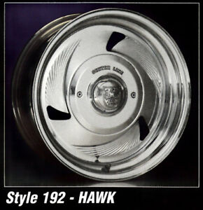 15x10 Centerline Forged Aluminum Wheels Hawk Style 1 Only 6 5 5 Bargain