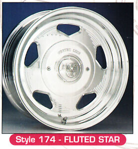 15x8 Centerline Forged Aluminum Wheels Billet Star Style 1 Only 5 5 0 5 5 5