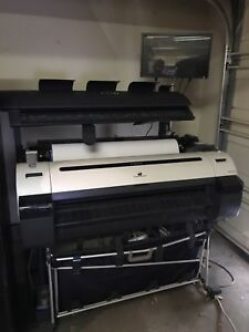 Large Format M40 Canon Printer And Scanner
