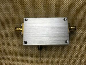 1pc Rf Broadband Power Amplifier Medium Power 10m 1 5ghz 32db Gain 27dbm