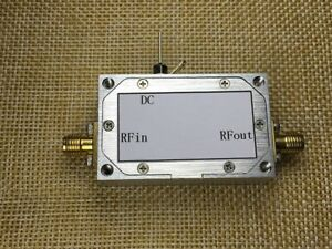 1pc Rf Broadband Low noise Amplifier 10m 3ghz 36db Gain Nf 1 5