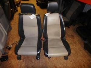 05 10 Jeep Grand Cherokee Front Leather Seats Tan Black Power 06 07 08 09
