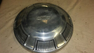 Vintage Set Of Dog Dish Hubcaps For 1968 70 Chevy Belair Biscayne Impala