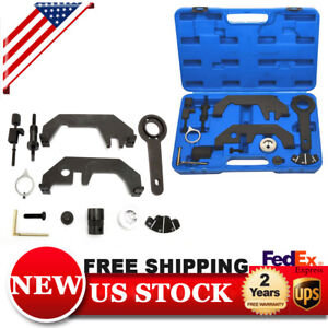 Alignment Camshaft Crankshaft Timing Fit For Bmw N62 N73 Master Tools Kit Set