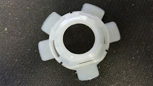 69 89 Corvette C3 C4 Horn Contact Retainer Insulator New 7808385 White