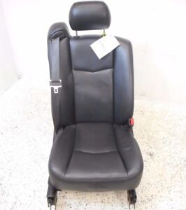 07 08 09 Cadillac Srx Front Passenger Right Seat Black Leather Oem Electric