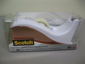 3m Scotch Desktop Tape Dispenser Case Of 4